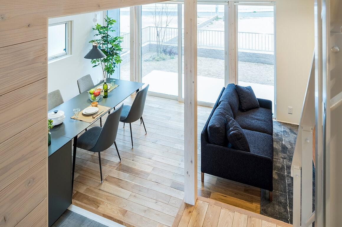 一流の建築士とR+パネルによる 「耐震性の高い家」
