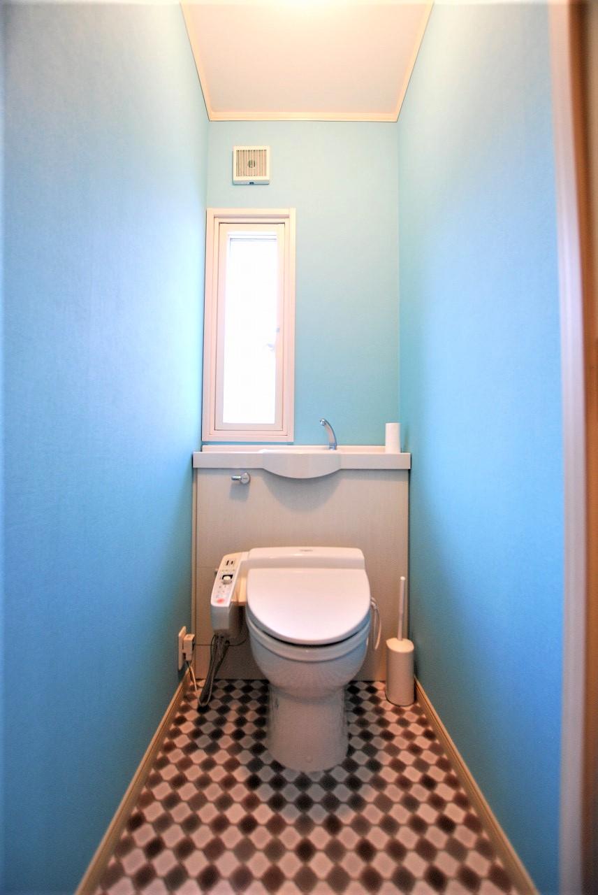 横須賀市の住宅でトイレの内装工事をしました